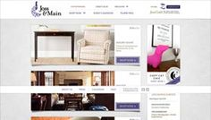 Showcase of ecommerce web design