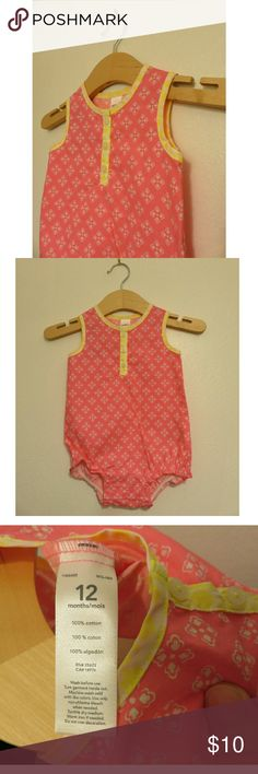 NWT Carter's Neon Pink Romper Baby Girl 9 12 M +New with tags, 2 available of 9 and 12 months, super cute and Disney #vacation ready! Neon pink with white asterisk pattern and neon yellow trim. +Makes a great Christmas gift! Bundle with my other men's/women's items or kids/baby clothes :-) Please ask any questions before buying. Smoke & pet free home. Thanks for shopping this WAHM's Suggested User closet! Carter's Bottoms Jumpsuits & Rompers