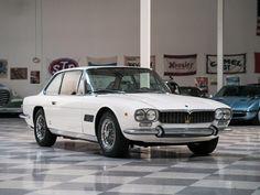 1968 Maserati Mexico 4.7 | V8, 4,709 cm³ | 290 bhp | Design: Virginio Vairo, Vignale