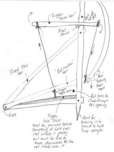 bamboo bow trap - Google Search