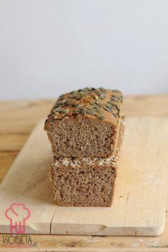 Najprostszy chleb żytni na dobry początek Bread, Blog, Brot, Blogging, Baking, Breads, Buns