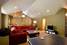 Teppich ist preiswert, weich und ideal für Familien mit kleinen Kindern.