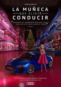 Raissa Medrado: A boneca que escolheu para dirigir - Comercial da Audi Espanha Audi, Short Films, Spain, Doll, Lifestyle, Universe, Chic