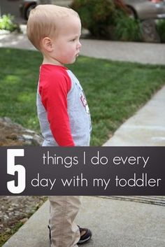 I love the toddler stage. I think I am going to be so sad when all of my kids move through this stage because it is so darn cute. I love to...