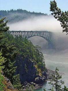 Deception Pass. photo by dschultz742.  Deception Pass State Park, Washington.