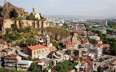 Tbilisi Georgia. Great vineyards and wine.