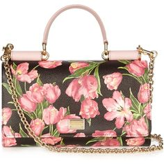 54a99a1ec4 Floral Printed Crossbody Bag by DOLCE   GABBANA for Preorder on Moda ...