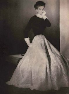 Louise Dahl-Wolfe Fashion Editorial  Jean Patchett 1952