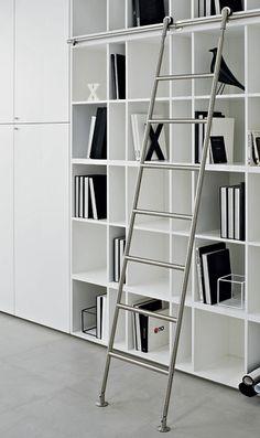 Mod. 15.320 Escalera - Escaleras para Biblioteca - Escaleras