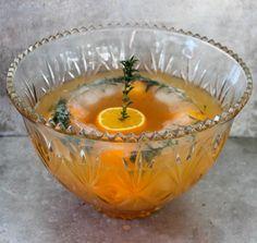Orange Bourbon Punch | Beautiful Booze