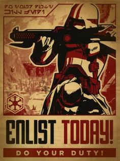 Enlist today - Do your duty