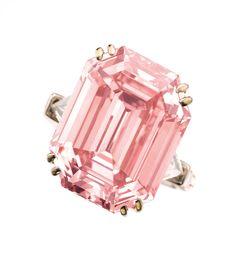 Diamant rose chez Sotheby's