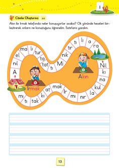 1. Sınıf Konu Anlatım SES FASİKÜLLERİ Grade 1, First Grade, Special Education, Karma, School, Books, Alphabet, Index Cards, Deutsch
