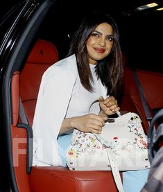 Priyanka Chopra is back in Mumbai to announce her upcoming Bollywood projects