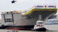 India became only the 5th nation to build and deploy an indigenous aircraft carrier. INS Vikrant .