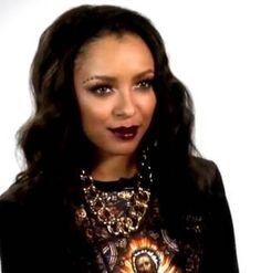 The Vampire Diaries' Kat Graham on Bonnie and Jeremy's Shirtless Scene (VIDEO)