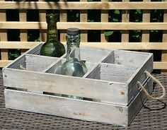 Storage for the wine wishing well
