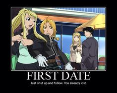 Winry, Ed, Roy, and Riza        _Fullmetal Alchemist Brotherhood