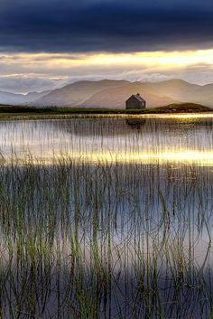 Glen Quaich, Perthshire, Scotland:      Glen Quaich is a glen of West Perthshire, which lies between Strath Tay and Glen Almond. This is a natural pass squeezed between Meall Dearg (2,264ft) and Meall nam Fuaran (2,641ft), emerging at the eastern extremity of Loch Tay. This, without doubt, is one of the most picturesque roads in the whole of Scotland. The River Quaich flows through an empty glen, into Loch Freuchie and out into the River Baan.