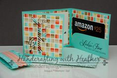 Retro Fresh Graduation Gift Card Holder – Stampin' Up! | Handcrafting with Heather