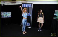 bella thorne sega event nyc 01