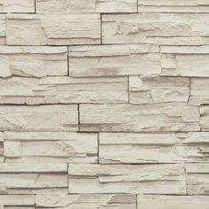 York RN1040 Modern Rustic Travertine Wallpaper