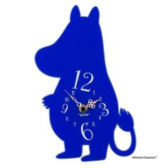 The-Story-of-Moomin-Valley-Silhouette-Wall-Clock-Moomin-Japan-Kato-Kogei