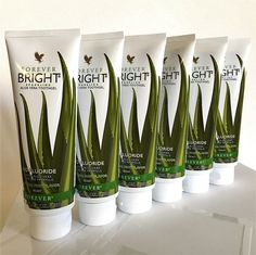 6 tubes of FOREVER LIVING Bright Toothgel / Aloe Vera & Propolis 4.6 oz each #FLP