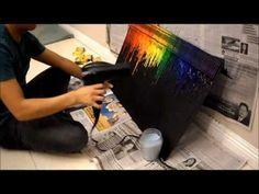 Crayon melting DIY
