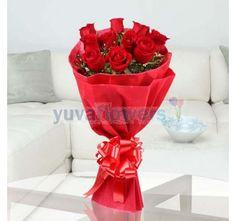 Send Flowers To Kolkata, Online Flower Delivery in Kolkata Same Day - YuvaFlowers Online Bouquet, Bouquet Delivery, Online Flower Delivery, Online Florist, Send Flowers, Rose Bouquet, Kolkata, Roses, Book