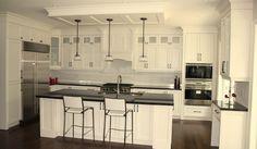 white kitchens | white kitchen design