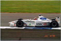 johnny herbert, stewart ford sf03,1999 british gp silverstone.