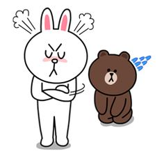 Yes it's finally happened! Brown & Cony are secretly dating! These stickers are a must have for every lovey-dovey couple! - includes a lot of hugs & kisses.