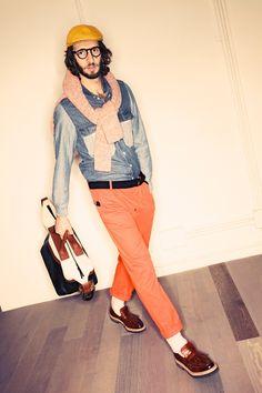 Andrea Pompilio A/W '12 men's look book