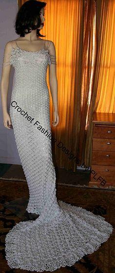Die 188 besten Bilder von häkeln - crochet wedding & gowns ...