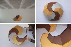 Paper lamp - hallway