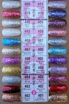 The advantage of the gel is that it allows you to enjoy your French manicure for a long time. There are four different ways to make a French manicure on gel nails. Dnd Gel Nail Polish, Nail Polish Online, Glitter Gel Polish, Gel Polish Colors, Gel Color, Shellac Colors, Ocean At Night, Soak Off Gel Nails, Purple Glitter