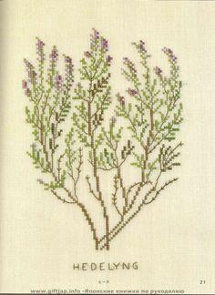 Wild Flowers in Cross-Stitch (33)