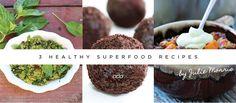 2 Scrumptious Superfood Recipes @Lorna Riojas Jane #lornajanespringclean @Harriet Adkins Approach #glutenfree