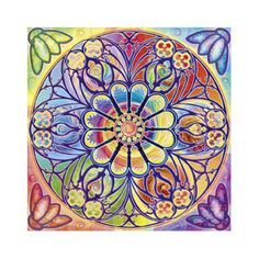 1000 piece jigsaw puzzle featuring a bright ornamental design. Square shaped puzzle. Released August 2013.