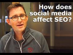 Do social media interactions affect search rankings? So how does social media affect SEO? Seo, Social Media, Social Networks