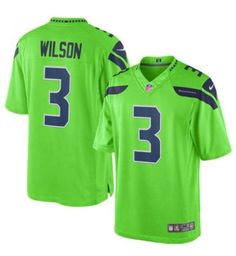 Seattle Seahawks Jersey - Green Color Rush Jerseys - Several Players 1edfce563