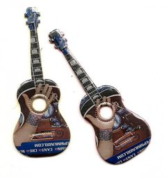 Soda Pop Can Guitar Ornament Recycled Can by RecycledSouvenirs,