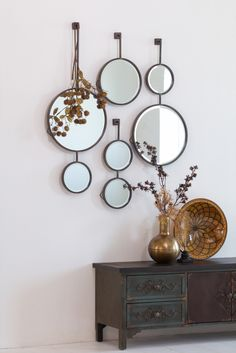 BePureHome Chain dubbele spiegel Double Mirror, Bedroom Decor, Wall Decor, Living Room Mirrors, Decor Interior Design, Feng Shui, Office Decor, Home Furnishings, Farmhouse Decor