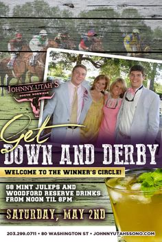 Get Down and Derby Welcome to the Winner Circle May 2, 2015