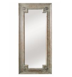 Amazon.com - Asheville Leaner Mirror in Soft Tarragon Finish - Wall Mounted Mirrors $910