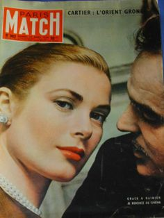 Paris Match N° 362 : Grace Kelly De Monaco & Prince Rainier