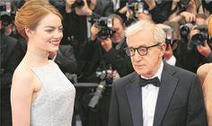 """Woody Allen """"Schauspielern habe ich nichts zu sagen""""  Woody Allen ist an seiner Muse Emma Stone nicht wirklich interessiert..."""