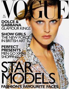 Stella Tennant by Tom Munro Vogue UK December 1997