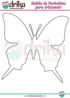 140 Moldes de Borboletas para Imprimir em Vários Tamanhos! Quilt Binding Tutorial, Paper Flowers, Diy And Crafts, Butterfly, Quilts, Illustration, Graphics, Paper Butterflies, Butterfly Stencil